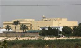 Ba quả rocket rơi gần Đại sứ quán Mỹ tại Baghdad, Iraq