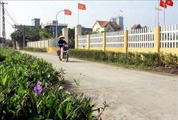 Thực hiện bền vững tiêu chí môi trường trong xây dựng nông thôn mới