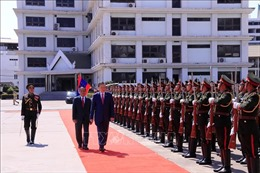 Hoạt động của Bộ trưởng Bộ Công an Tô Lâm tại Lào