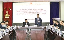 Tổ công tác của Thủ tướng làm việc với Ủy ban Quản lý vốn Nhà nước tại doanh nghiệp