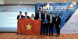 Học sinh Việt Nam đạt HCB Cuộc thi Sáng tạo và Đổi mới quốc tế tại Malaysia