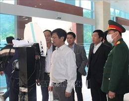 Kiểm tra công tác phòng, chống dịch COVID-19 tại Cao Bằng