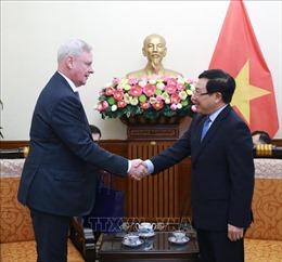 Phó Thủ tướng, Bộ trưởng Ngoại giao Phạm Bình Minh tiếp Thứ trưởng thứ nhất Bộ Ngoại giao Nga