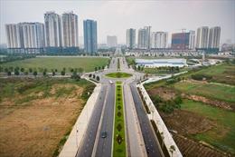 Từ 17/3 - 30/6, rào chắn đường Nguyễn Văn Huyên kéo dài phục vụ xây dựng cầu vượt