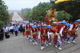 Giỗ Tổ Hùng Vương chỉ tổ chức ba lễ chính