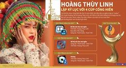 Hoàng Thùy Linh lập kỷ lục với cú 'poker' tại Giải Âm nhạc Cống hiến