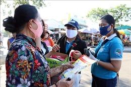 Nhiều Chi hội phụ nữ ở Bến Tre may khẩu trang phát miễn phí