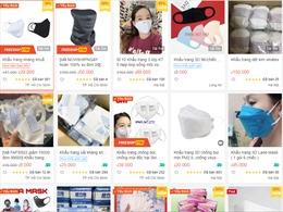 Dịch COVID-19: Xử lý gần 16.200 gian hàng vi phạm trên sàn thương mại điện tử