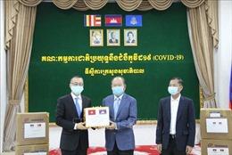 Campuchia cảm ơn Chính phủ và nhân dân Việt Nam viện trợ thiết bị y tế chống dịch COVID-19