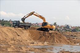 Phú Yên yêu cầu kiểm tra việc vận chuyển, sử dụng cát sau nạo vét