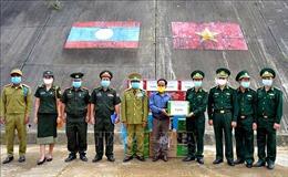 Thăm, chúc Tết Bunpimay lực lượng vũ trang và nhân dân Lào