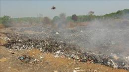 Ô nhiễm từ bãi rác phát sinh, nhiều hộ dân vùng biên Bù Đốp bỏ ruộng vườn
