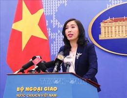 Người Phát ngôn Bộ Ngoại giao: Việt Nam phản đối mạnh mẽ việc thành lập cái gọi là 'thành phố Tam Sa'