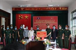 Trao tặng thiết bị y tế phòng chống dịch COVID-19 cho các tỉnh Bắc Lào