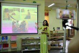 Dịch COVID-19: Khi giáo viên mầm non 'đóng vai' nghệ sỹ