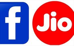 Facebook mua 5,7 tỷ USD cổ phần của Jio Platforms