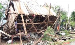 Nhiều địa phương bị thiệt hại do mưa dông