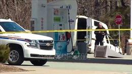 Dựng lại hiện trường vụ xả súng đẫm máu khiến 22 người thiệt mạng tại Canada