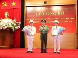 Bổ nhiệm Thiếu tướng Lê Quốc Hùng và Thiếu tướng Lê Tấn Tới làm Thứ trưởng Bộ Công an