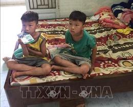 Tìm thấy hai cháu bé sinh đôi mất tích ở Bình Phước