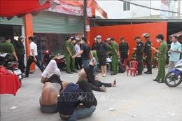 Triệt phá nhóm 'giang hồ' thu tiền bảo kê tại Đồng Nai