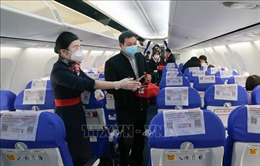 IATA phản đối thực hiện giãn cách xã hội trên máy bay