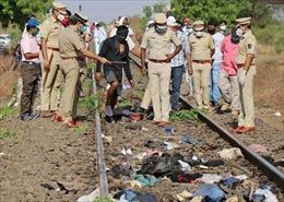 Tai nạn đường sắt tại Ấn Độ làm 14 lao động nhập cư thiệt mạng