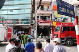 Nổ bình ga tại ngôi nhà 5 tầng phố Cửa Nam, 3 người phải đi cấp cứu
