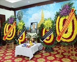 Lãnh đạo Đảng, Nhà nước viếng, ghi sổ tang, tưởng niệm Đại tướng Sisavath Keobounphanh