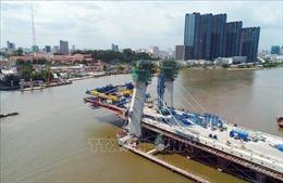 Cầu Thủ Thiêm 2 sẽ thông xe kỹ thuật cuối năm 2020