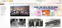 Khai mạc Triển lãm sách trực tuyến kỷ niệm 130 năm Ngày sinh Chủ tịch Hồ Chí Minh
