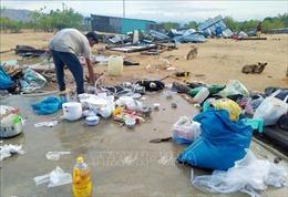 Khẩn trương khắc phục thiệt hại do mưa to kèm lốc xoáy tại Ninh Thuận