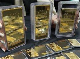 Giá vàng thế giới tăng trước thềm cuộc họp của Fed