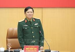 Đại tướng Ngô Xuân Lịch dự Đại hội đại biểu Văn phòng Bộ Quốc phòng, nhiệm kỳ 2020 - 2025