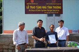 Trao tặng nhà tình thương cho hộ dân tộc thiểu số nghèo ở Đắk Lắk
