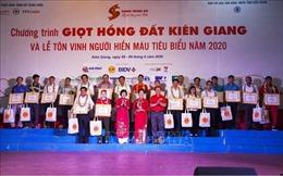 Khai mạc Hành trình đỏ tỉnh Kiên Giang và tôn vinh người hiến máu tình nguyện