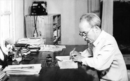 Chủ tịch Hồ Chí Minh - Người sáng lập nền báo chí cách mạng Việt Nam