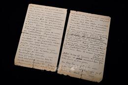 Đấu giá bức thư viết tay của danh họa Vincent Van Gogh và Paul Gauguin