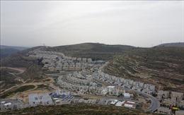 Israel chuẩn bị cho kế hoạch sáp nhập khu Bờ Tây