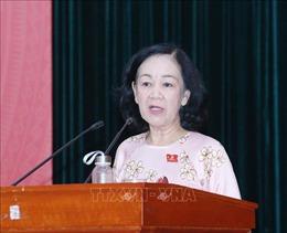 Trưởng ban Dân vận Trung ương tiếp xúc cử tri tại Đà Lạt