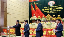 Phú Thọ: Tiền đề quan trọng tổ chức thành công Đại hội Đảng bộ cấp tỉnh