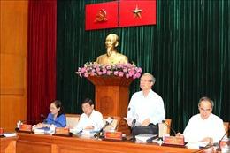 TP Hồ Chí Minh: Tập trung vào nhiệm vụ trọng tâm, chú trọng phát triển KHCN, đổi mới sáng tạo