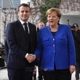 Tổng thống Pháp tới Đức trao đổi về các vấn đề của EU