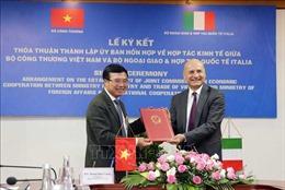 Thành lập Ủy ban hỗn hợp về hợp tác kinh tế Việt Nam - Italy