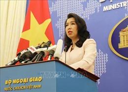 Việt Nam giao thiệp, trao công hàm phản đối Trung Quốc tiến hành tập trận ở Hoàng Sa