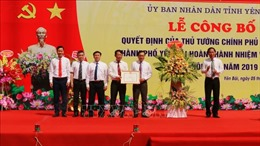 Công nhận thành phố Yên Bái hoàn thành xây dựng nông thôn mới