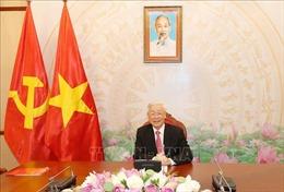 Tổng Bí thư, Chủ tịch nước Nguyễn Phú Trọng điện đàm với Chủ tịch Đảng CPP, Thủ tướng Campuchia Hun Sen