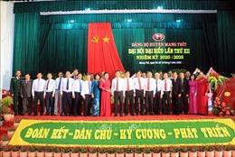 Đại hội Đảng bộ huyện Mang Thít xác định 3 khâu đột phá