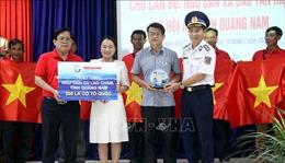 Cảnh sát Biển đồng hành cùng ngư dân Cù Lao Chàm