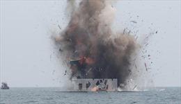 Indonesia thôi đánh chìm tàu cá bất hợp pháp để trao cho hợp tác xã địa phương